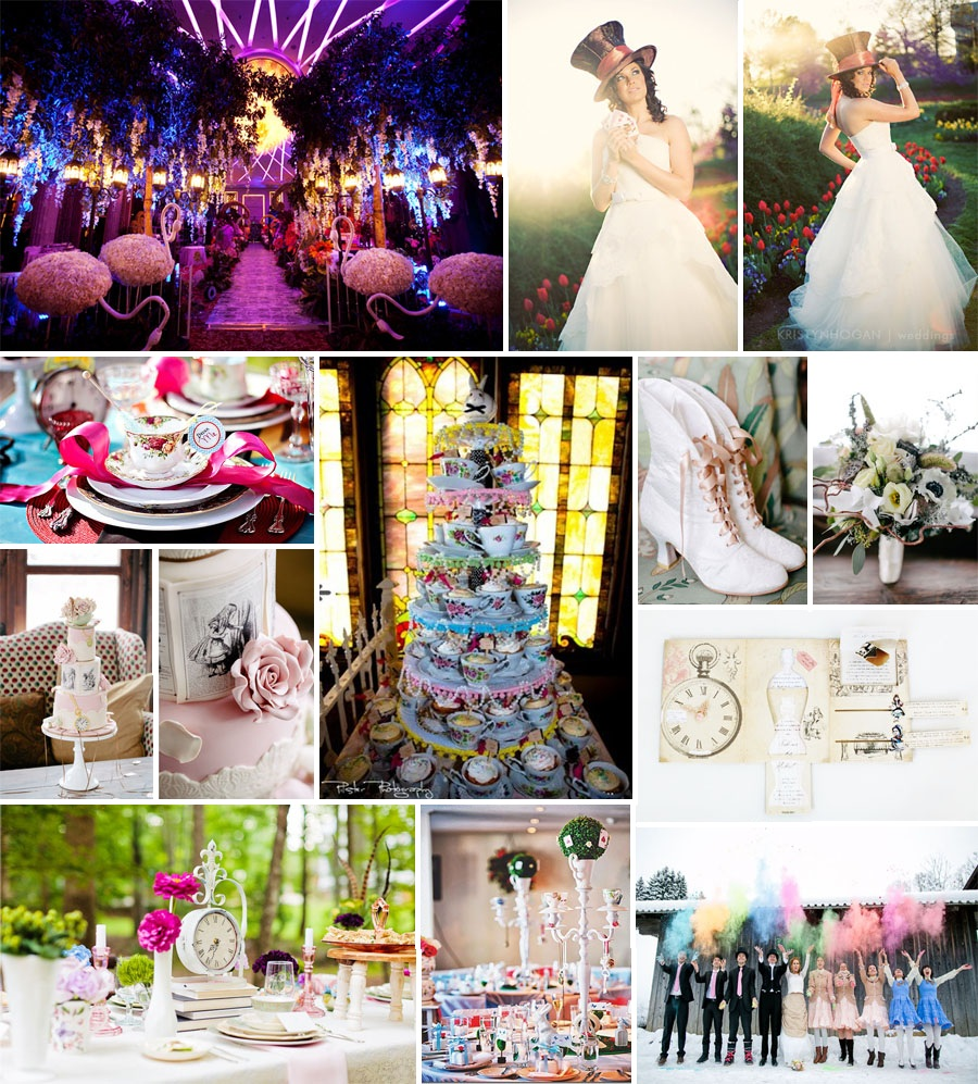 Project Dream Wedding Inspiration Nation Alice In Wonderland