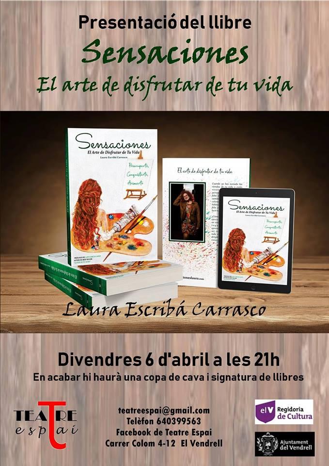 Presentació llibre Sensaciones, el arte de disfrutar de tu vida.