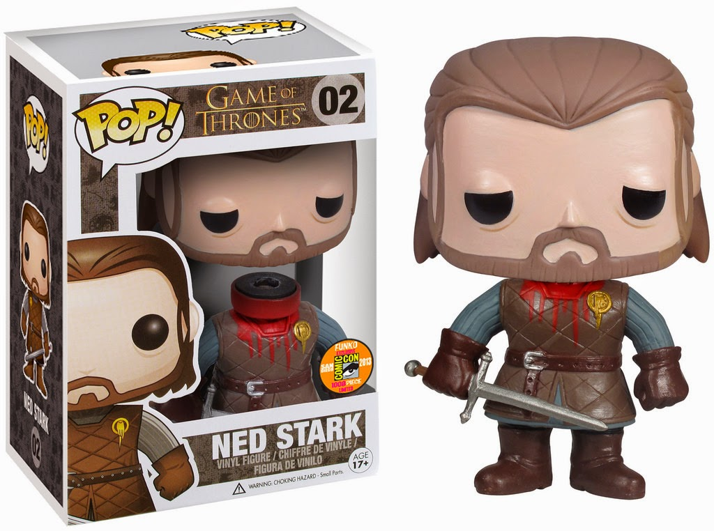 "Funko Pop! ""Headless"" Ned Stark [SDCC 2013]"