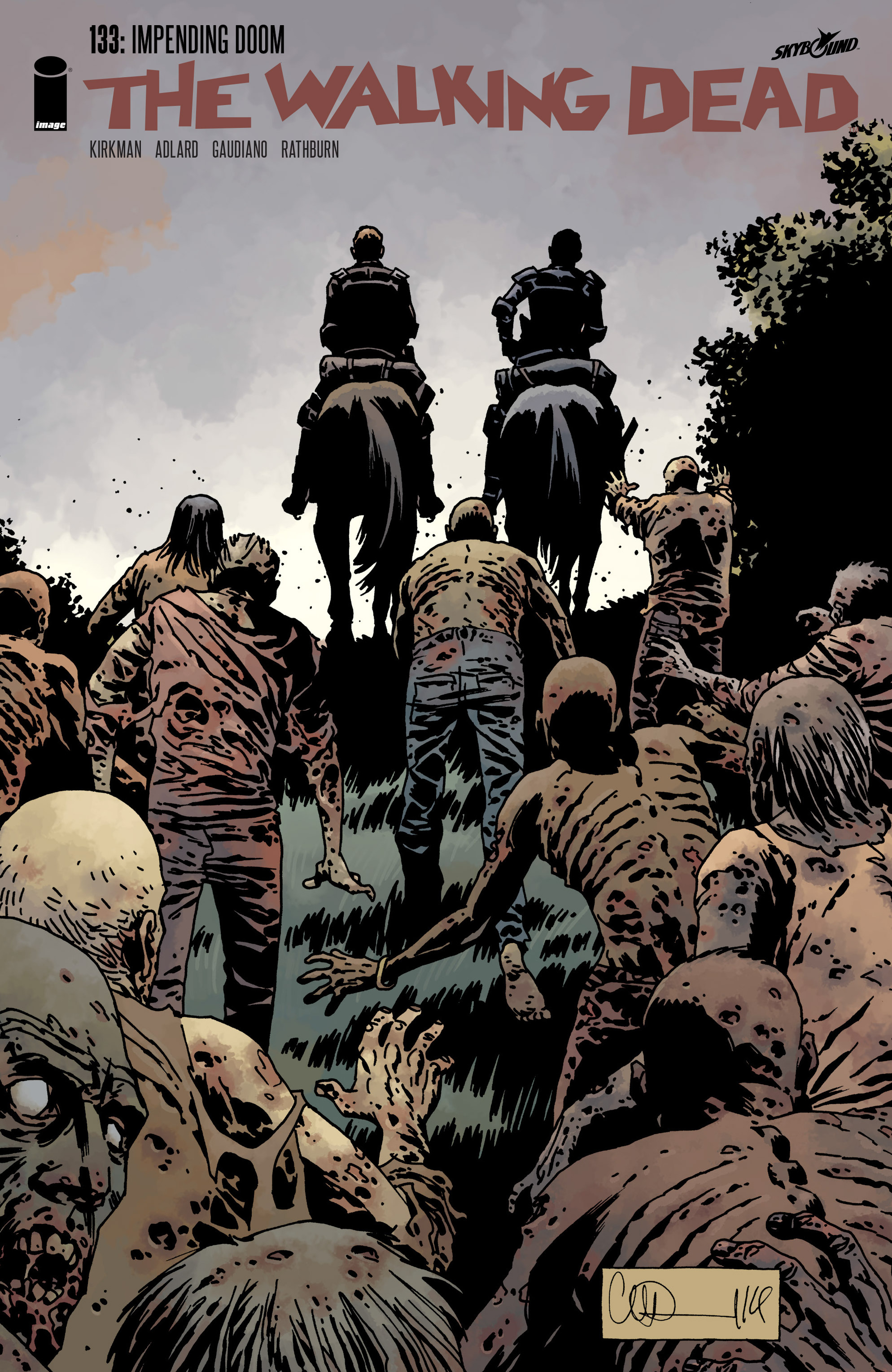 The Walking Dead Issue #133 Page 1