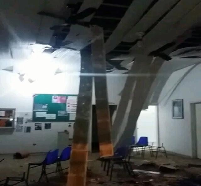 Bandidos explodem BANESE em Monte Alegre e encurrala policiais