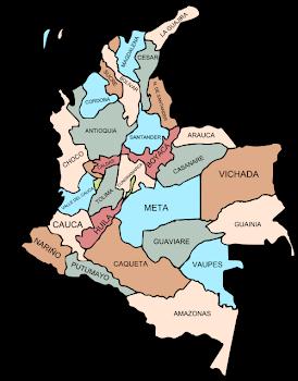 División política de Colombia