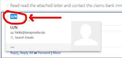 email penipu