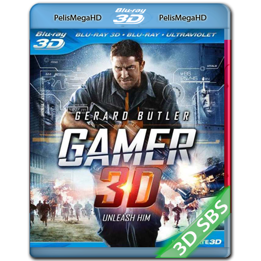 Gamer (2009) 3D SBS 1080P HD MKV ESPAÑOL LATINO