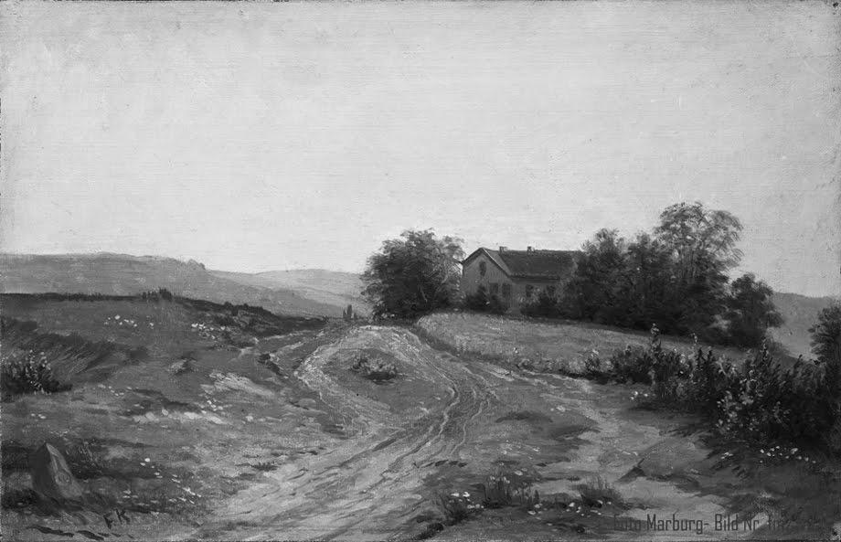 Hansenhaus Rechts - Gemälde