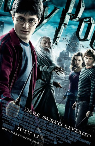 Poster Of Harry Potter and the Half Blood Prince 2009 720p Hindi BRRip Dual Audio