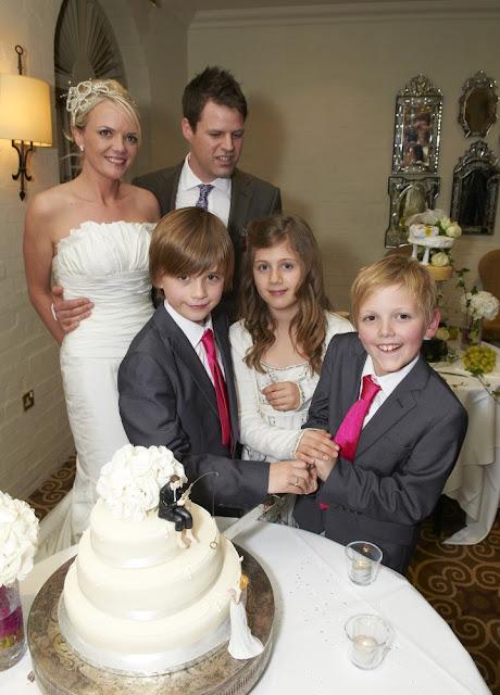children involved wedding day
