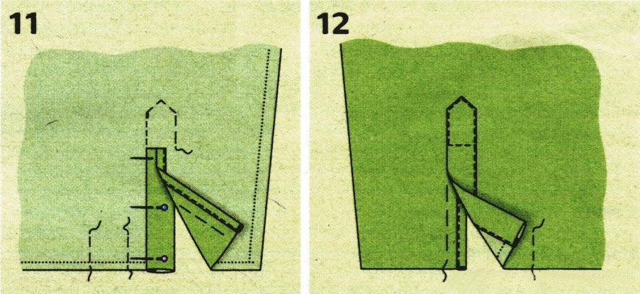 обработка шлицы на рукавах в мужской рубашке посмотреть как