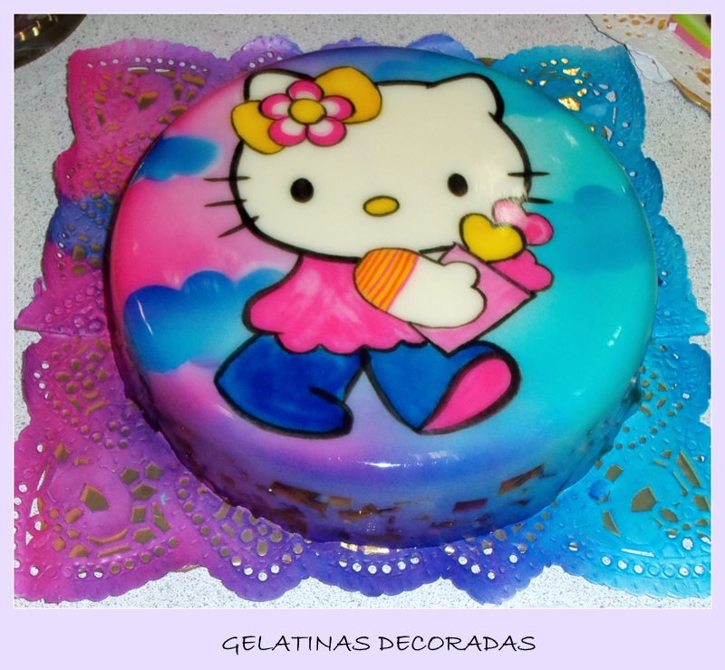 Gelatinas Decoradas