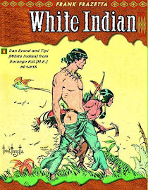 White Indian en Durango Kid - Integral - Frank Frazetta