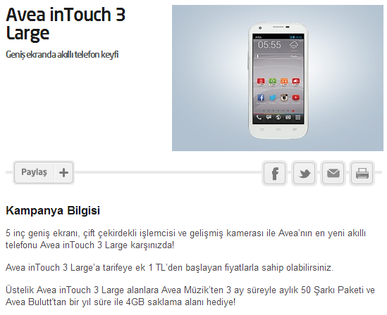 avea intouch 3 large