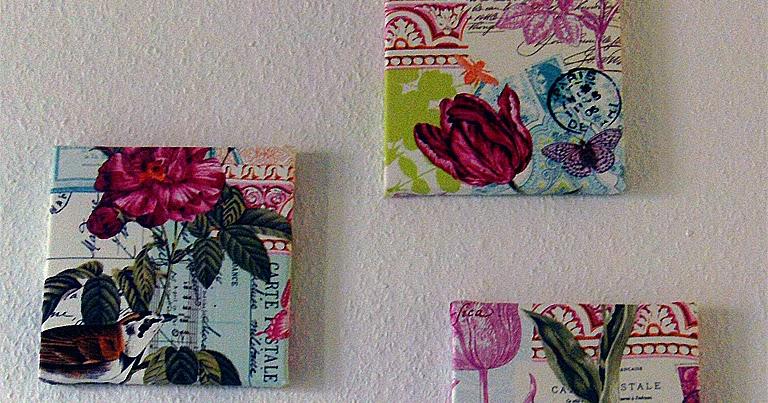 Chrishna kreativ wandbilder selbst gemacht - Wandbilder aus stoff ...