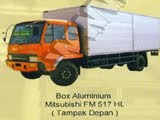 BOX ALUMUNIUM MITSUBISHI FM 517 HL