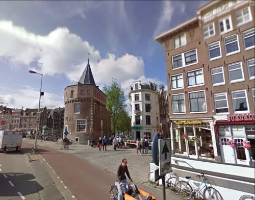 El centro de Amsterdam