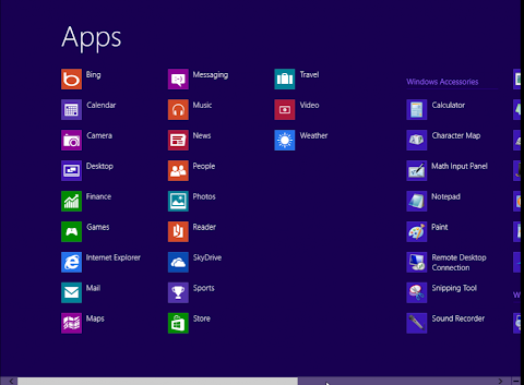 Inilah Aplikasi aplikasi Windows 8
