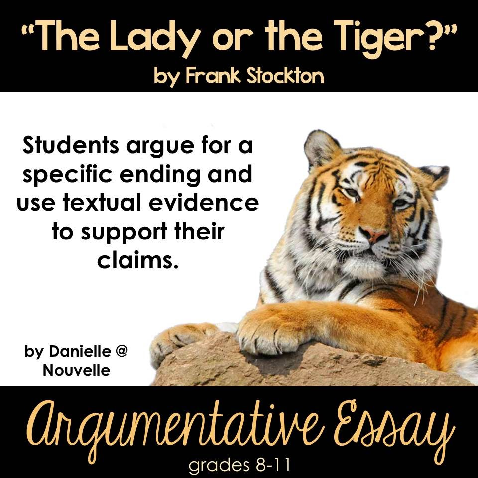 the best of teacher entrepreneurs language arts lesson lady or lady or the tiger essay