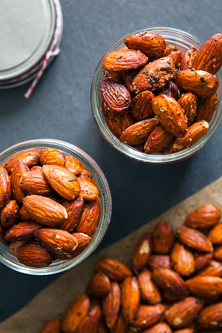 Rosemary and Sea Salt Almonds