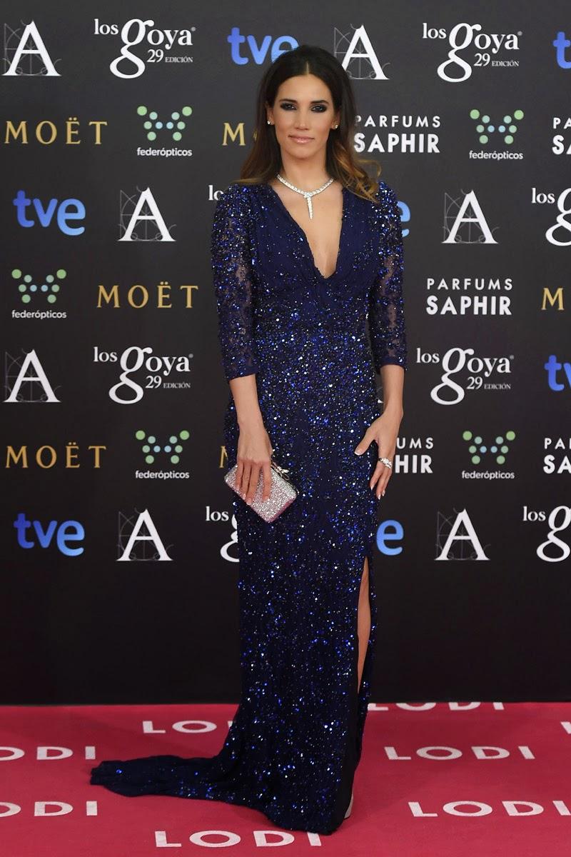 Premios Goya 2015 - India Martínez, de Blumarine