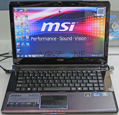 MSI X460 X series ultraportable notebooks Thin but strong