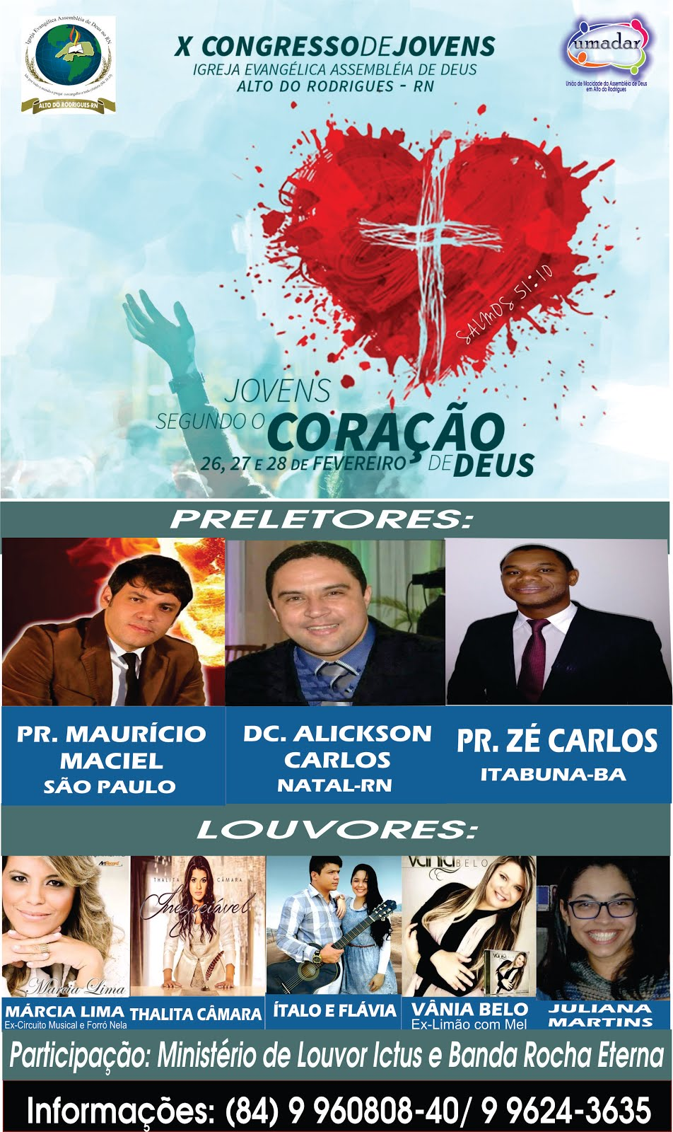 De 26 á 28 de Fevereiro em Alto do Rodrigues
