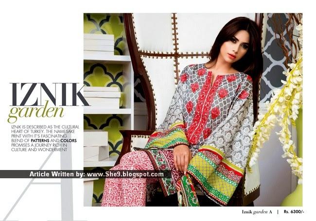 Khadijah Shah Launched Sapphire Lawn 2015 Catalog