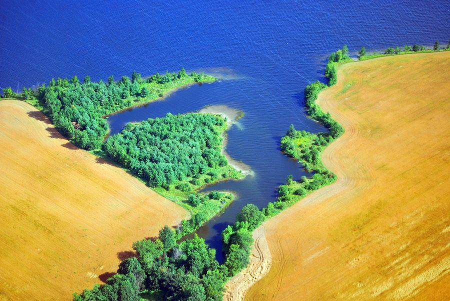 27. Aerial Shoreline 2 by Robert Goulet