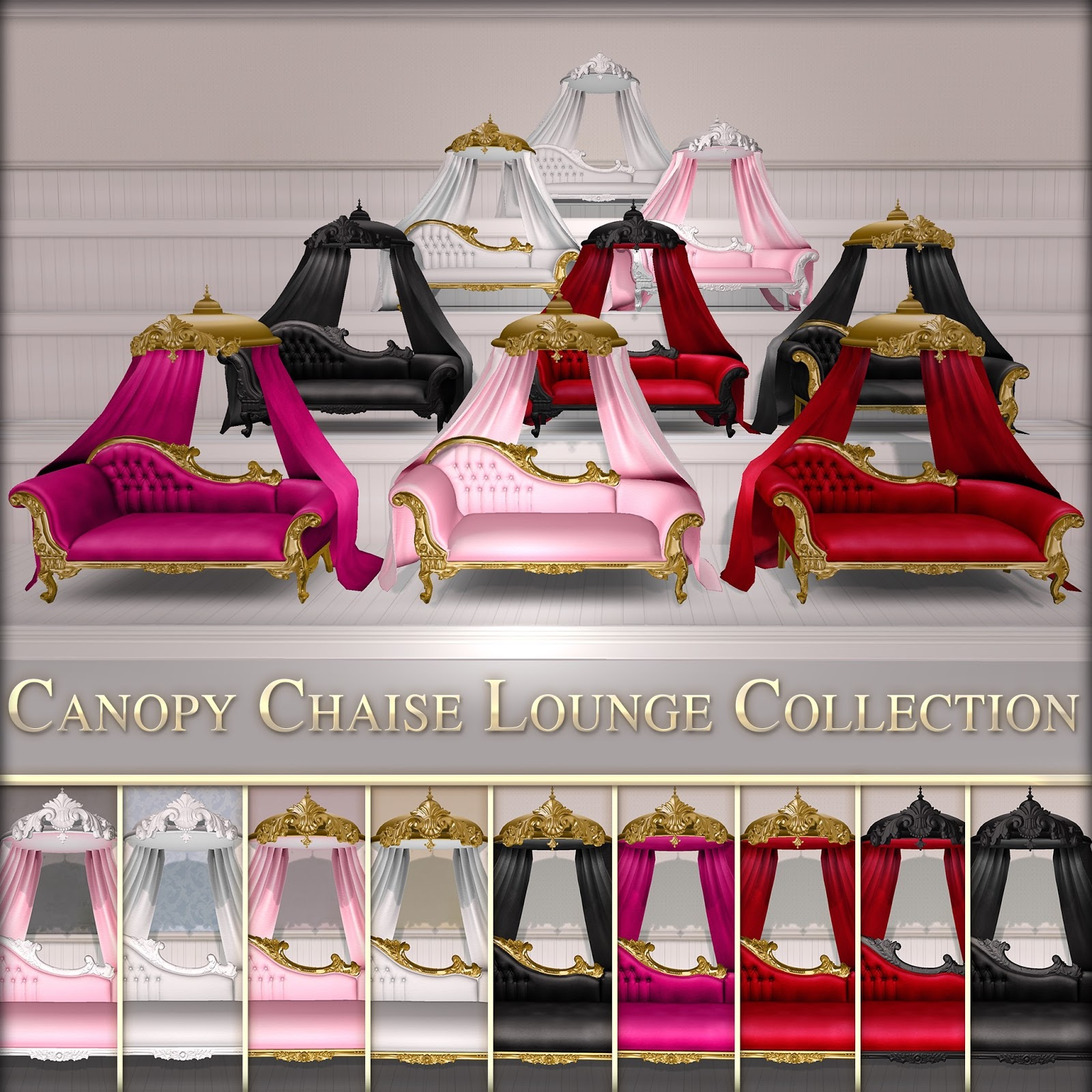 Canopy Chaise Lounge Collection & Canopy Chaise Lounge Collection   Vitabela