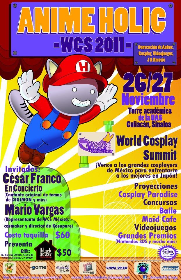 Anime Holic WCS 2011 - 26 y 27 noviembre 2011