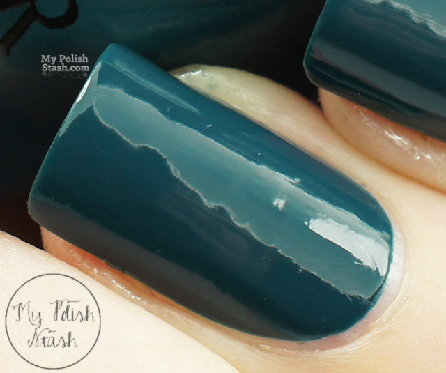 opi ski teal we drop swatch