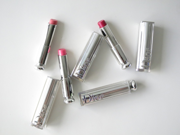 Dior Addict lipstick with new hydra-gel core