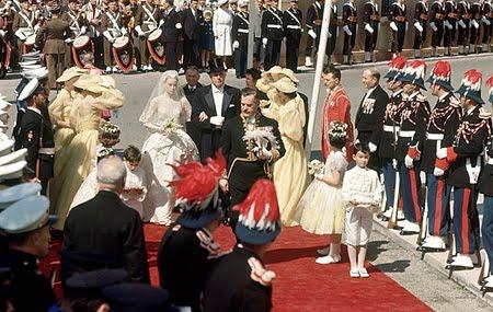 Сватбата на Грейс Кели и княз Рение III