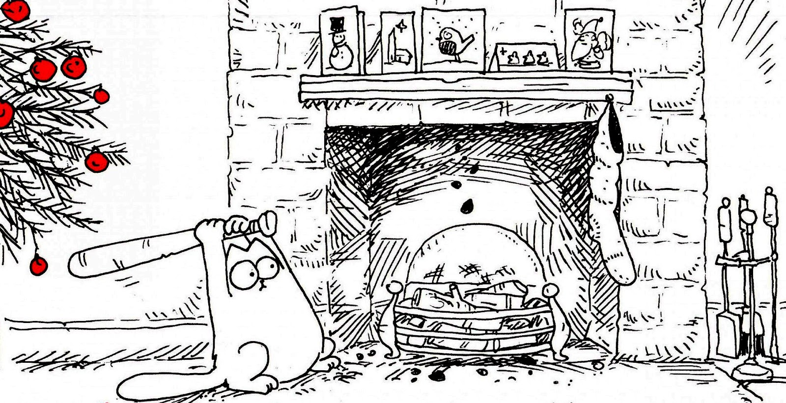 Philosophy of Science Portal: Simon's Cat and the Christmas tree