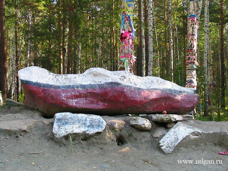 Дунькин сундук и Самсонкин гроб. Челябинская область.