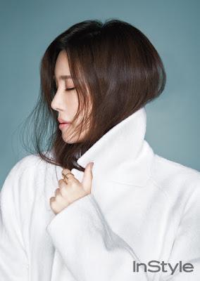 Lee Ji Ah - InStyle Magazine January Issue 2016