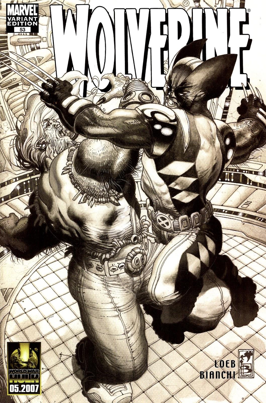 Read online Wolverine (2003) comic -  Issue #53 - 1