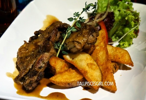 Cajun Chicken - Grilled boneless chicken thigh with Cajun seasoning (RM 20)