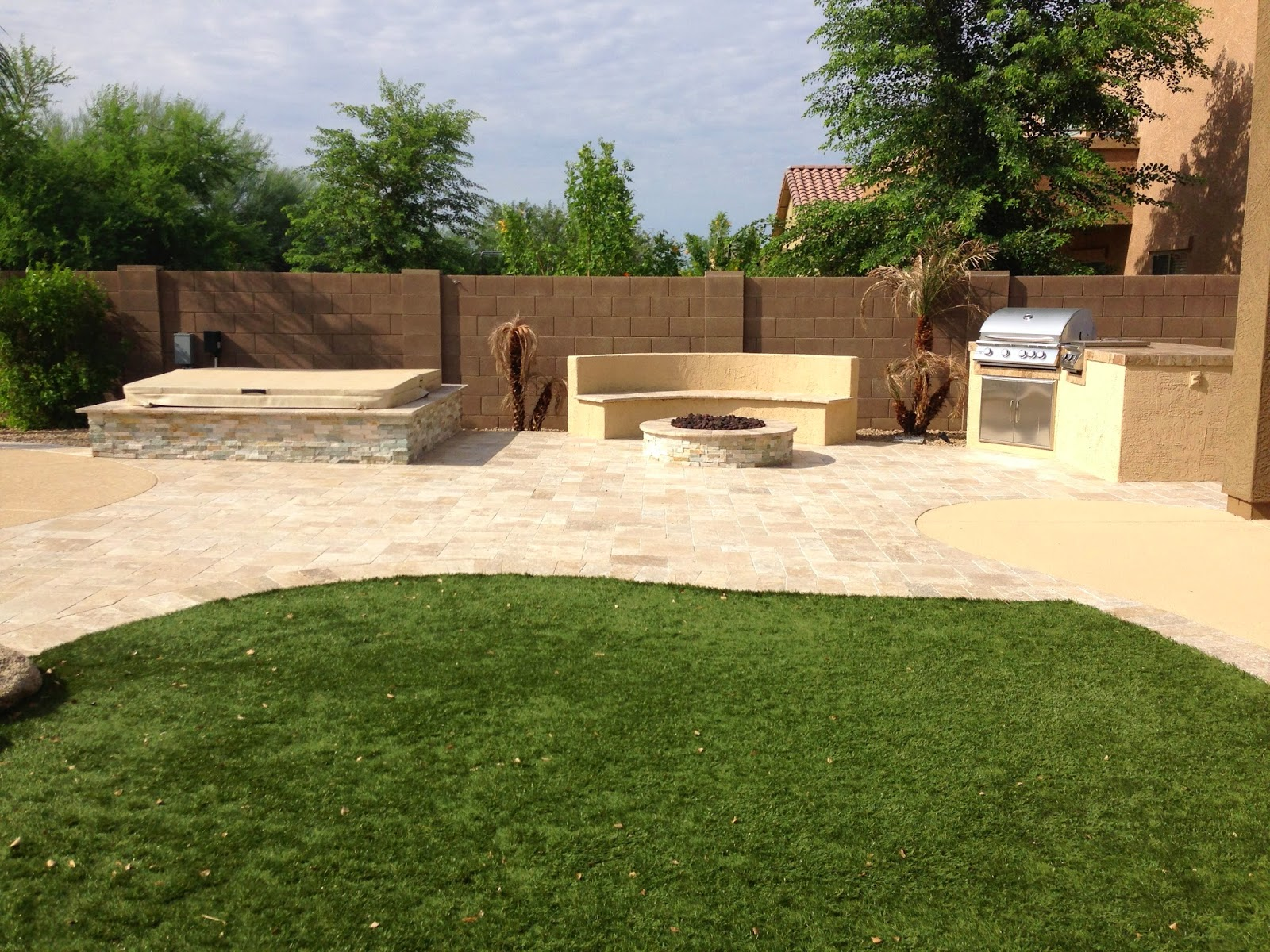 Arizona backyard phoenix landscaping design pool builders for Landscape design phoenix