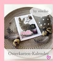 Osterkarten-Kalender bei Nicole