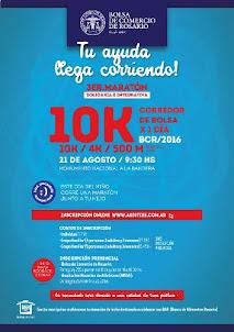 10K MARATON SOLIDARIA BOLSA DE COMERCIO