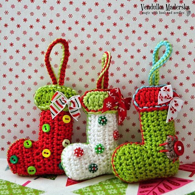 Christmas bootie by VendulkaM