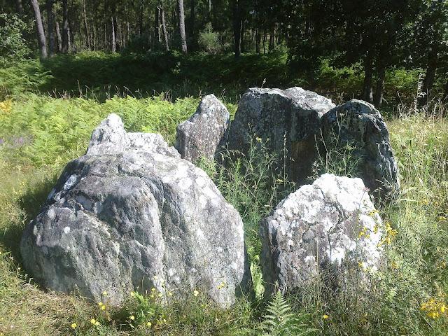 Dolmen de A Cova da Moura argalo noia