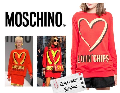 Clones moda otoño 2014 shana moschino