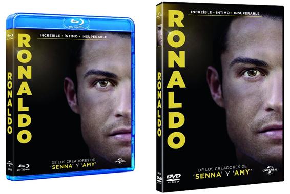 Ronaldo dvd e blu-ray filme
