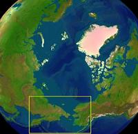 îles Diomède Carte