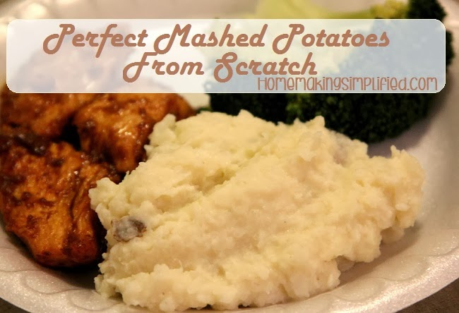 Mashed Potatoes from Scratch