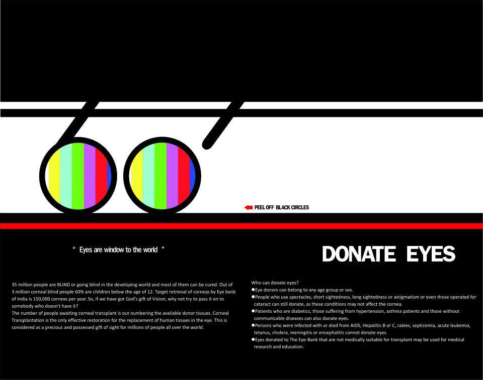 script on eye donation