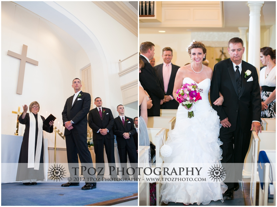 Leesburg Presbyterian Church Wedding