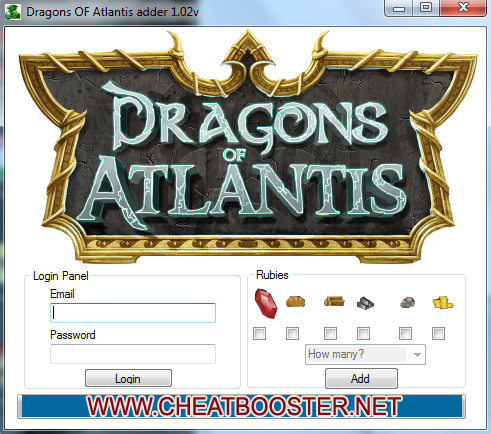 Dragons Atlantis Rubies Hack