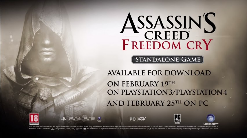 Assassin's Creed: Freedom Cry Now Stand-Alone Title - weknowgamers