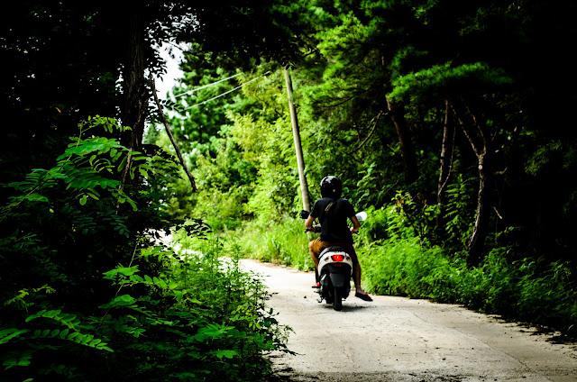 Motorcycle Korea Pohang Scooter